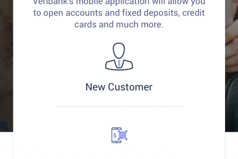 Digital Onboarding screen
